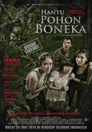 Film Hantu Pohon Boneka 2014 di Bioskop