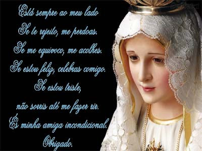 Feliz Dia Das M  Es    Salve Nossa Senhora De F  Tima