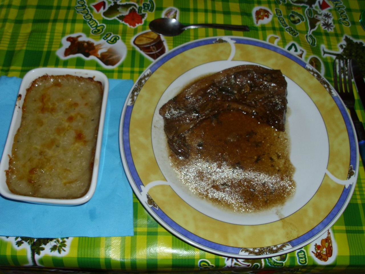 Recettes du chef un repas entre amis for Repas pour recevoir amis