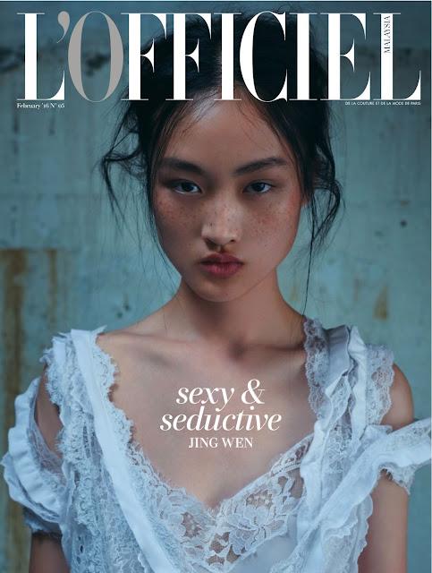 Fashion Model, @ Jing Wen - L'Officiel Singapore, February 2016