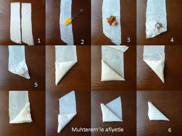 Muska Böreği nasıl yapılır?