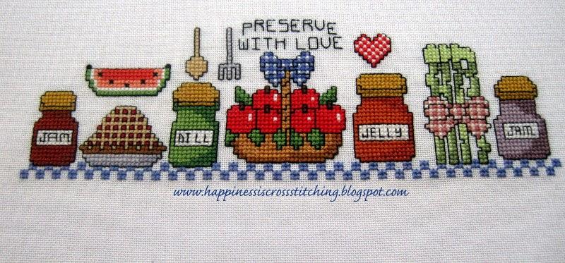 Cross stitch pattern, Preserve with Love