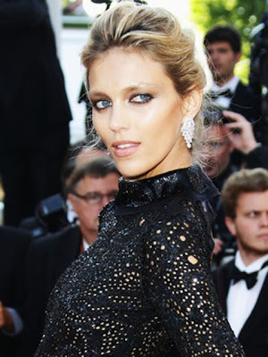 Anja Rubik Dangling Diamond Earrings