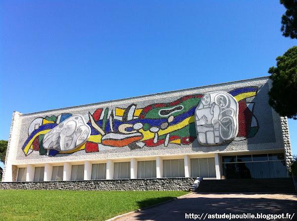 Biot - Musée Fernand Léger  architecte: André Svetchine  Construction: 1957-1958