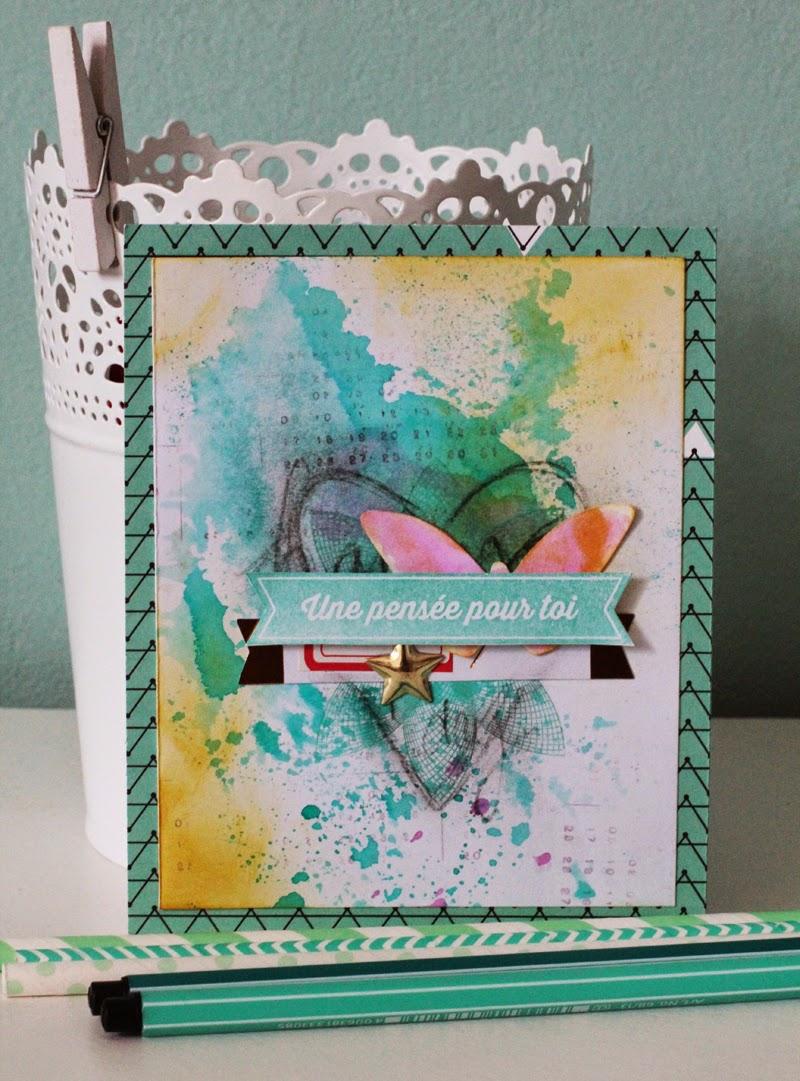 Sizzix thinlits la set 6pk-Butterfly cards 659972