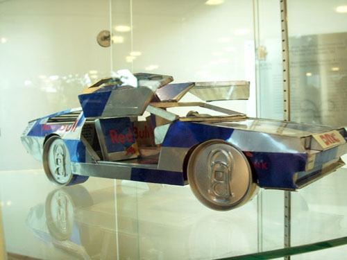Red Bull DeLorean
