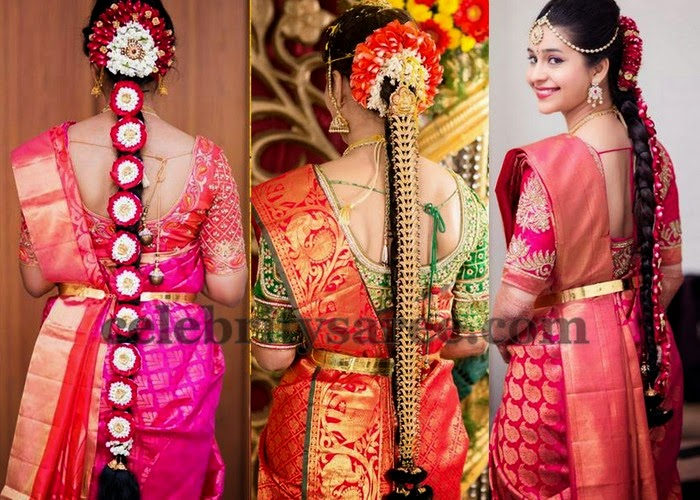 Brides in Elbow Length Blouses