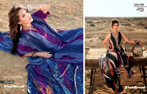 Sleeveless Gowns Gul Ahmed