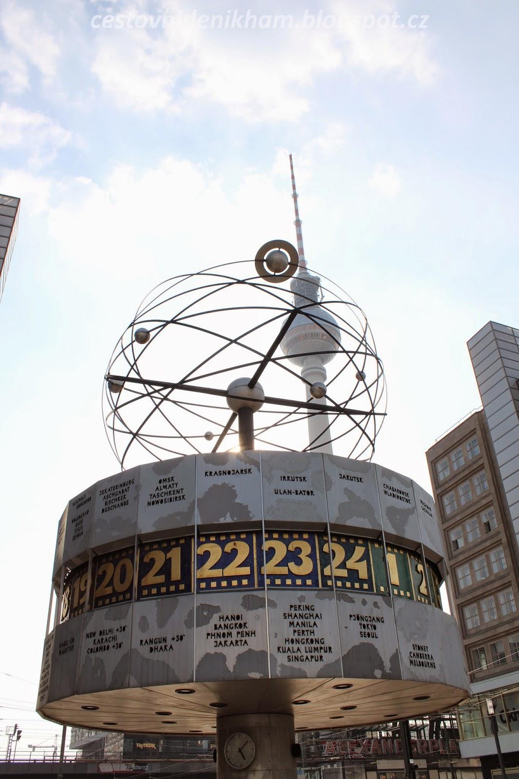 Hodiny světa // World clock