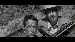 Walter  Matthau Lonely are the Brave Kirk Douglas 1962 movieloverreviews.blogspot.com