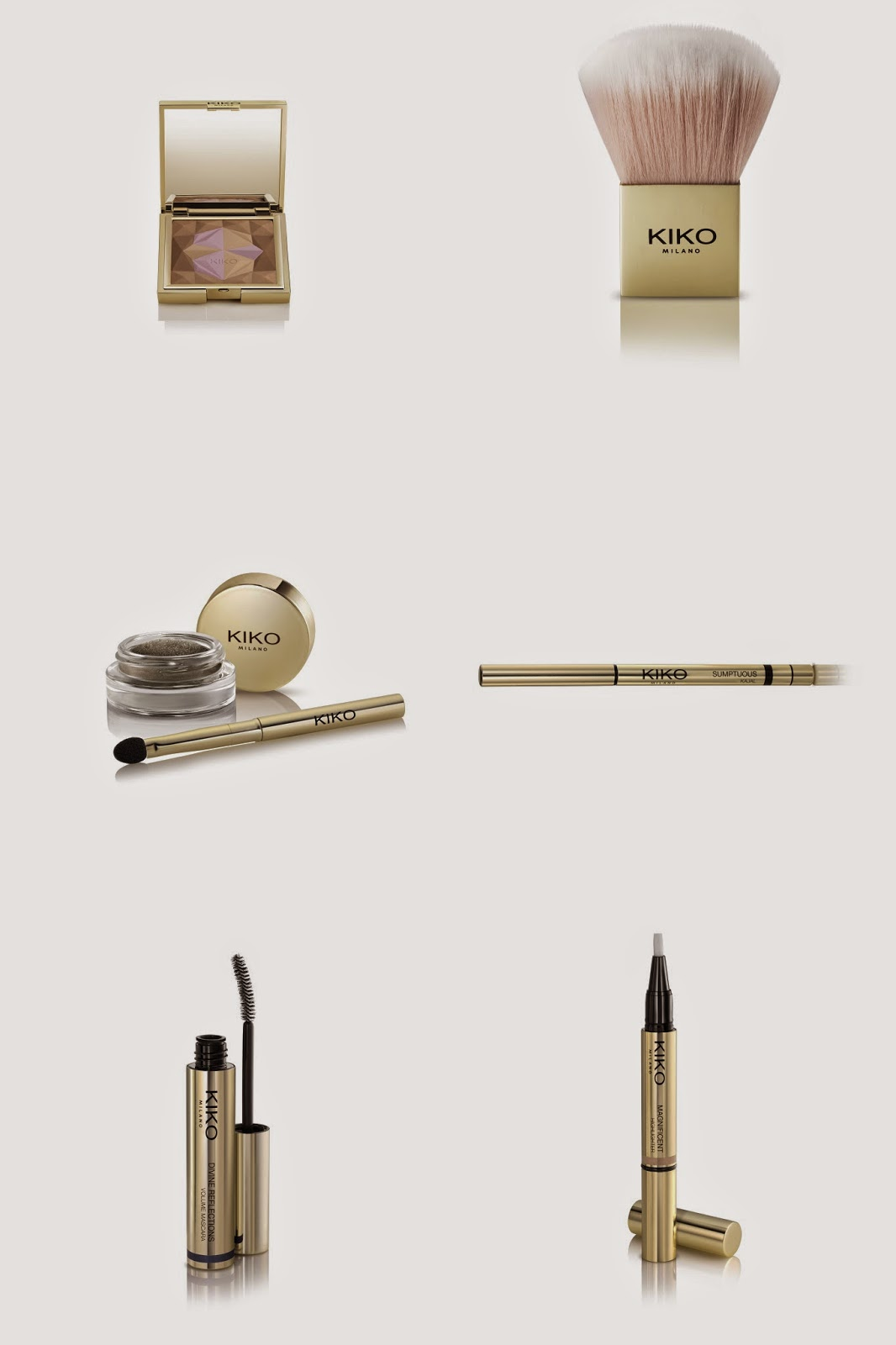 Kiko Milano Luxurious Collection - Aspiring Londoner