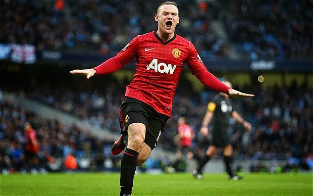 British Football - wayne rooney of manchester united