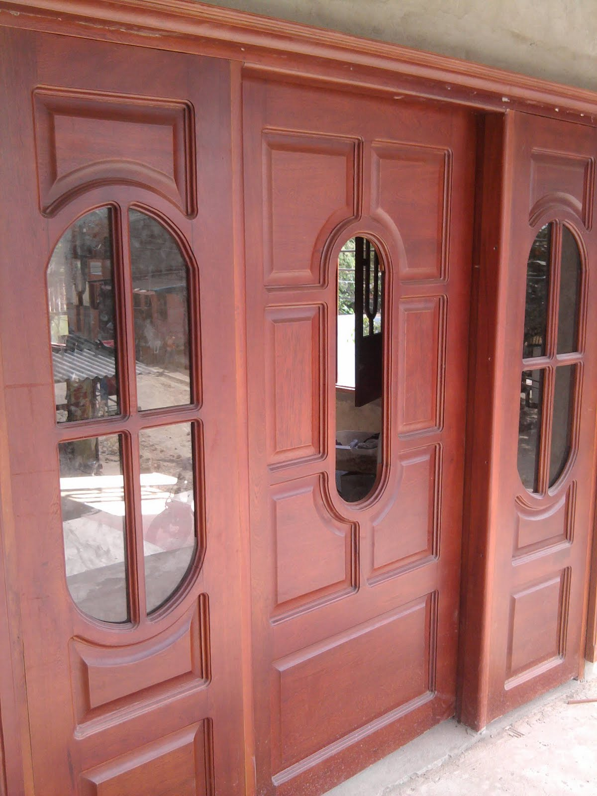 Muebles reinel carpenter puertas principales for Puertas principales de madera