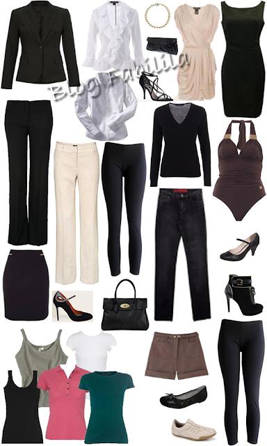 guarda roupas básico