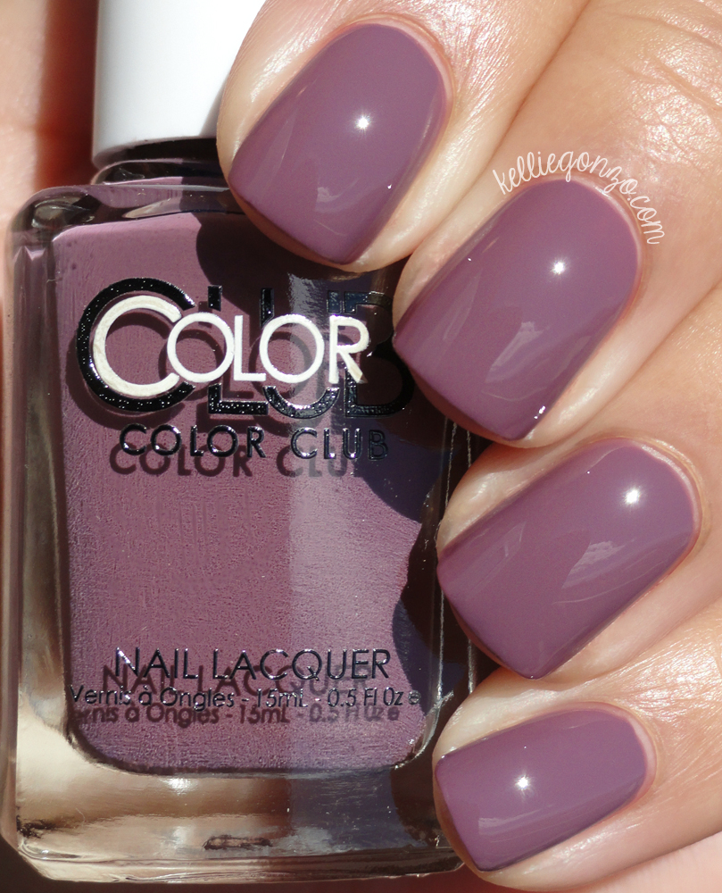 Color Club Midnight Mulberry Shift Into Neutral Collection