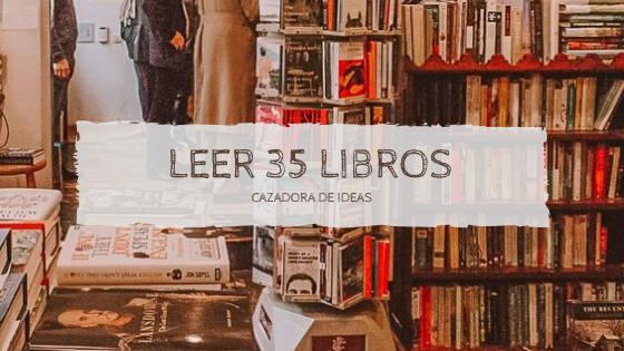 Reto: 35 libros