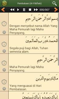 Aplikasi Al'Quran Bahasa Indonesia untuk Android