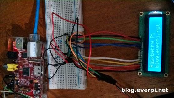 Ligação do LCD 16x2 com o Raspberry Pi