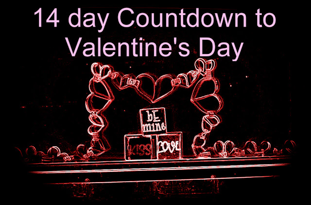 14 Day Countdown to Valentine's Day for husbands