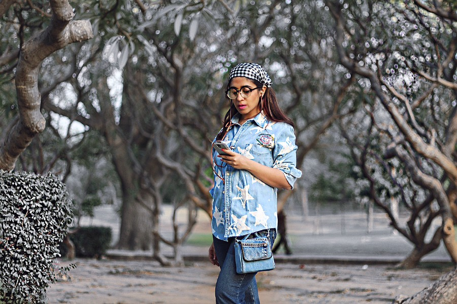 retro look flared denims  trends