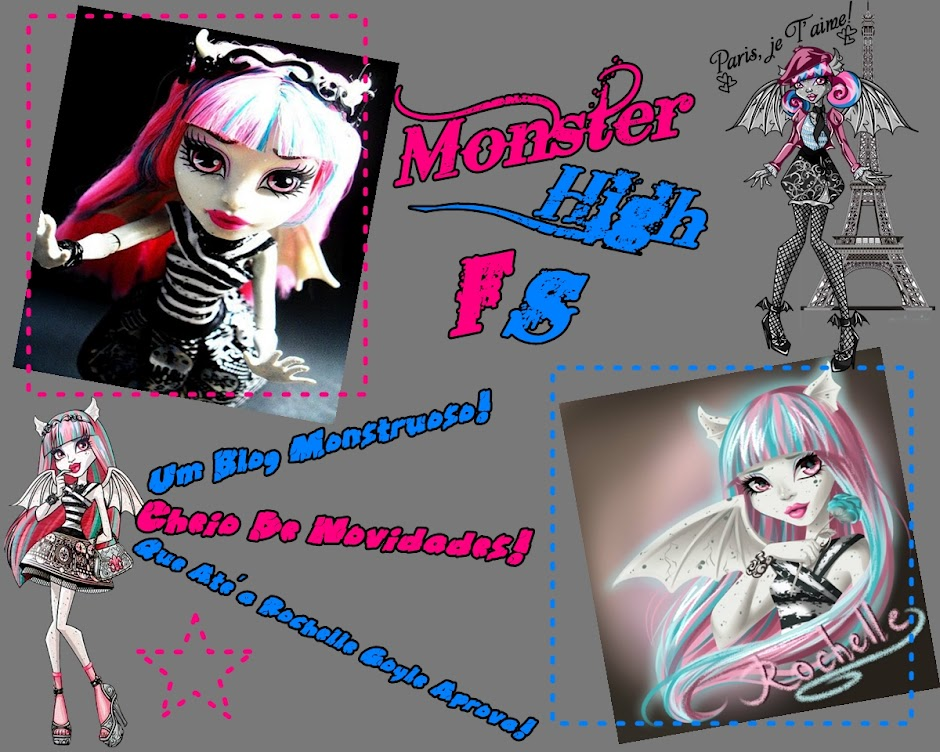 AMAMOS MONSTER HIGH *-*