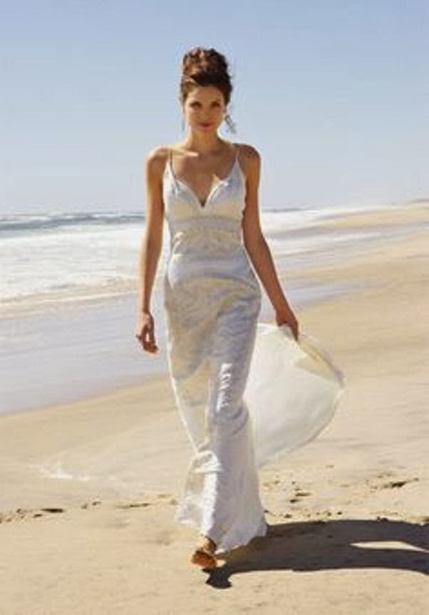 Beach Wedding Dresses 2014 For Young Bridal