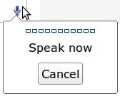mikrofon tražilica web stranice Google Chrome