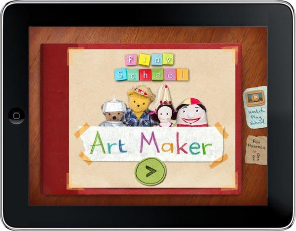 cookies  animation, illustration, design: Play School Art Maker App