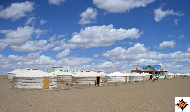 Gobiin Anar Ger Camp, nei pressi delle Khongoriin Els