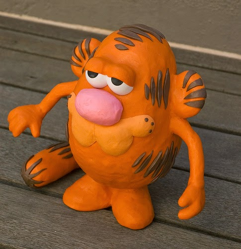 Mr. Potato versión Garfield