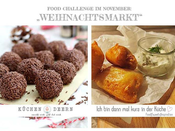 [Foodchallenge] Der Weihnachtsmarkt für zu Hause: Schoko-Bananen