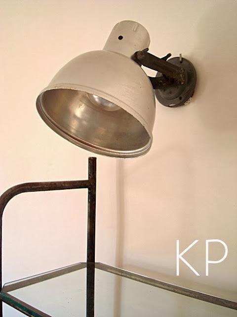 Comprar aplique estilo industrial restaurado, lámparas vintage antiguas de aluminio