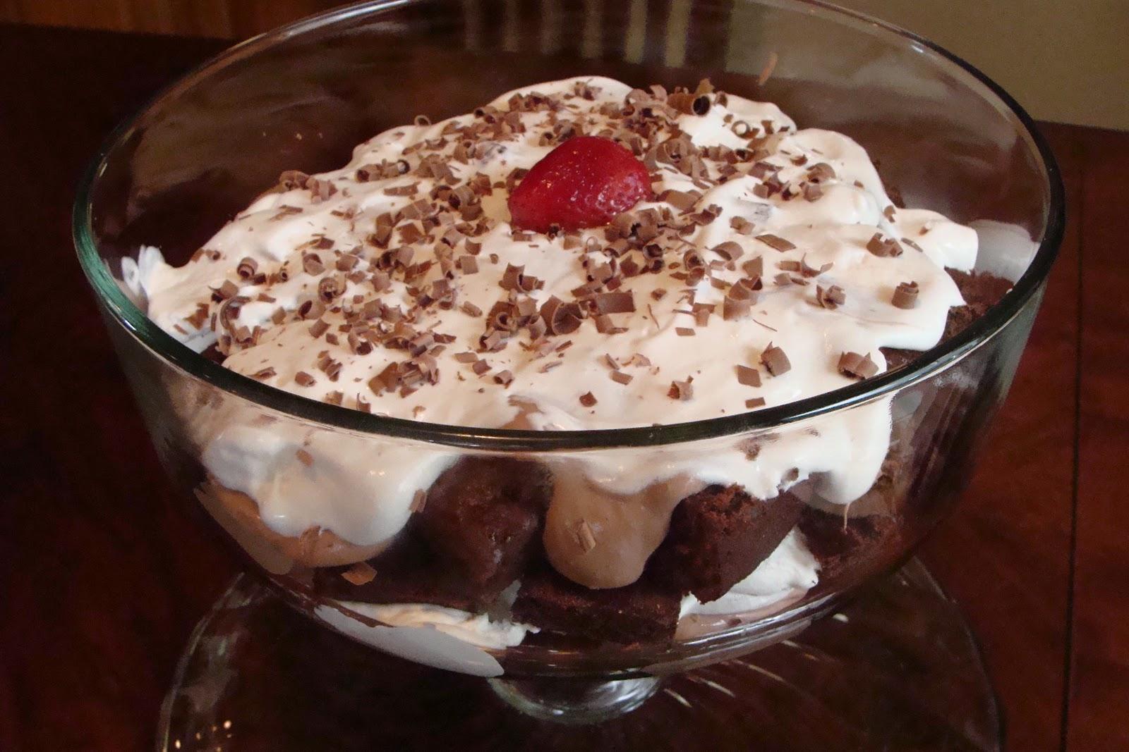 Inside Heather's Home: Skinny Chocolate Trifle