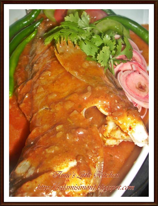... kukus thai kukus ikan buang air ikan tuang perencah ikan kukus thai