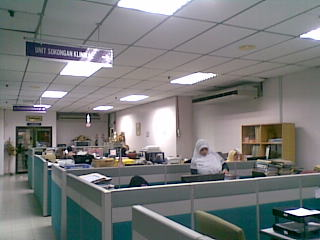 UNIT SOKONGAN KLINIKAL HOSPITAL UNIVERSITI SAINS MALAYSIA