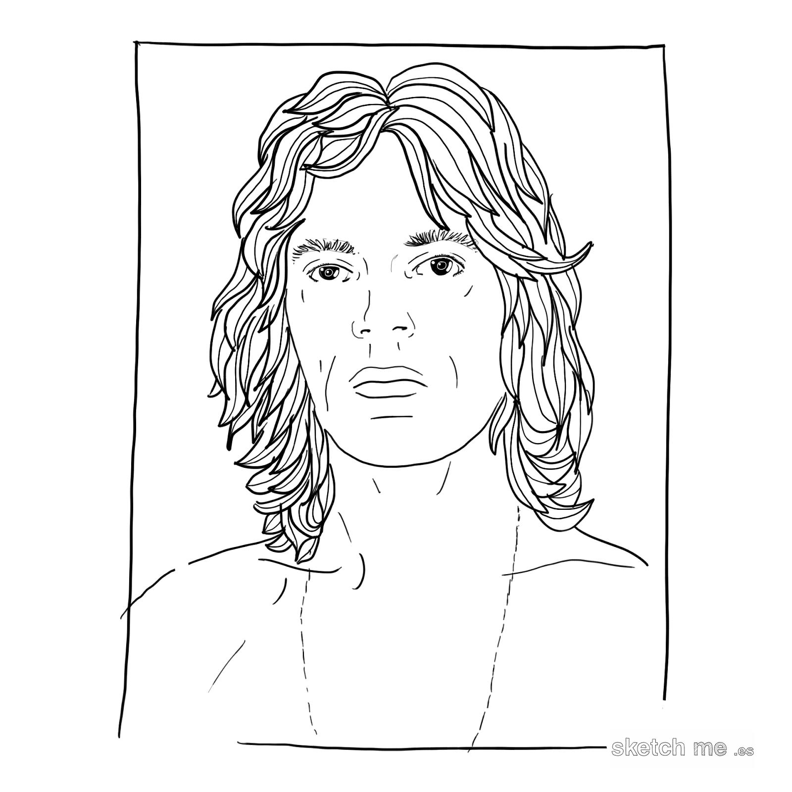 custom-portrait-retrato-personalizado-mick-jagger