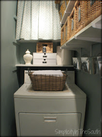 Simplicity In The South: Laundry Room Reveal