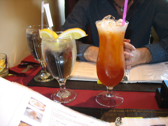 A delicious Thai Iced Tea!