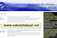 Surabaya Membuka Lowongan CPNS 179 Guru SD