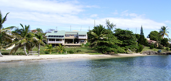 Beachfront home for sale in Grenada