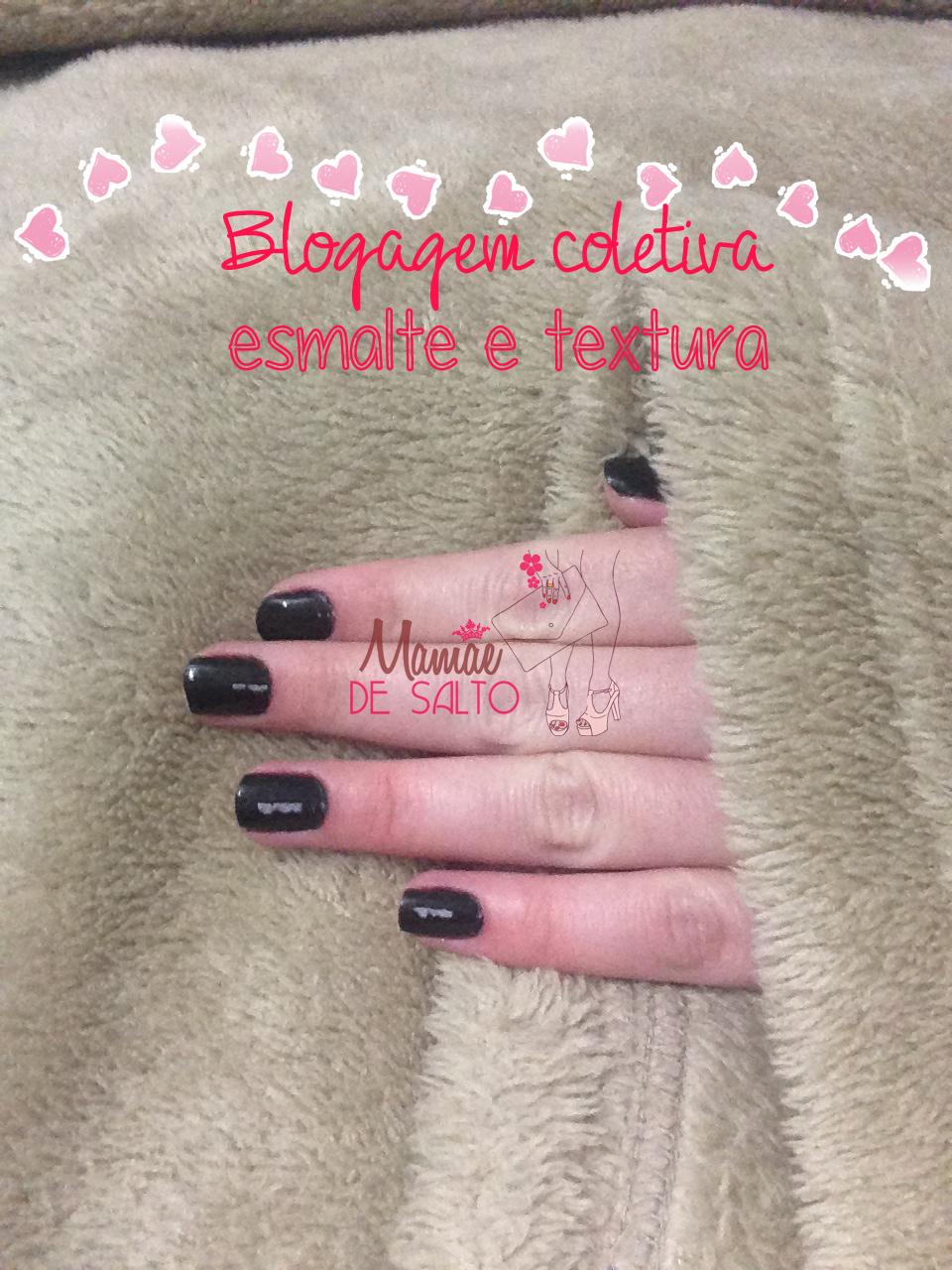 blogagem coletiva esmalte e textura cobertor com manga mehndi blog Mamãe de Salto ==> todos os direitos reservados