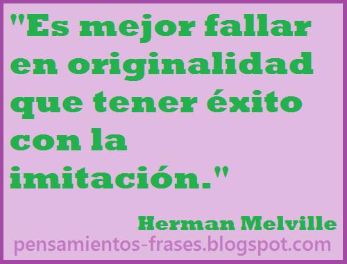 frases de Herman Melville
