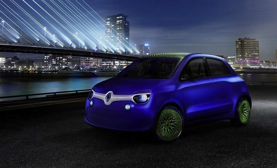 新型 ルノー・トゥインゴ  ルノー「Twin-Z」(ツインゼット)コンセプトカー。(公式プレスイ