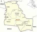 Dhi Qar Map