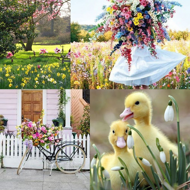 +++May Mood Board Challenge - SPRING BLOOMS AND NEW LIFE до 31/05