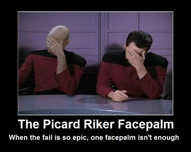 Triple Facepalm Picard