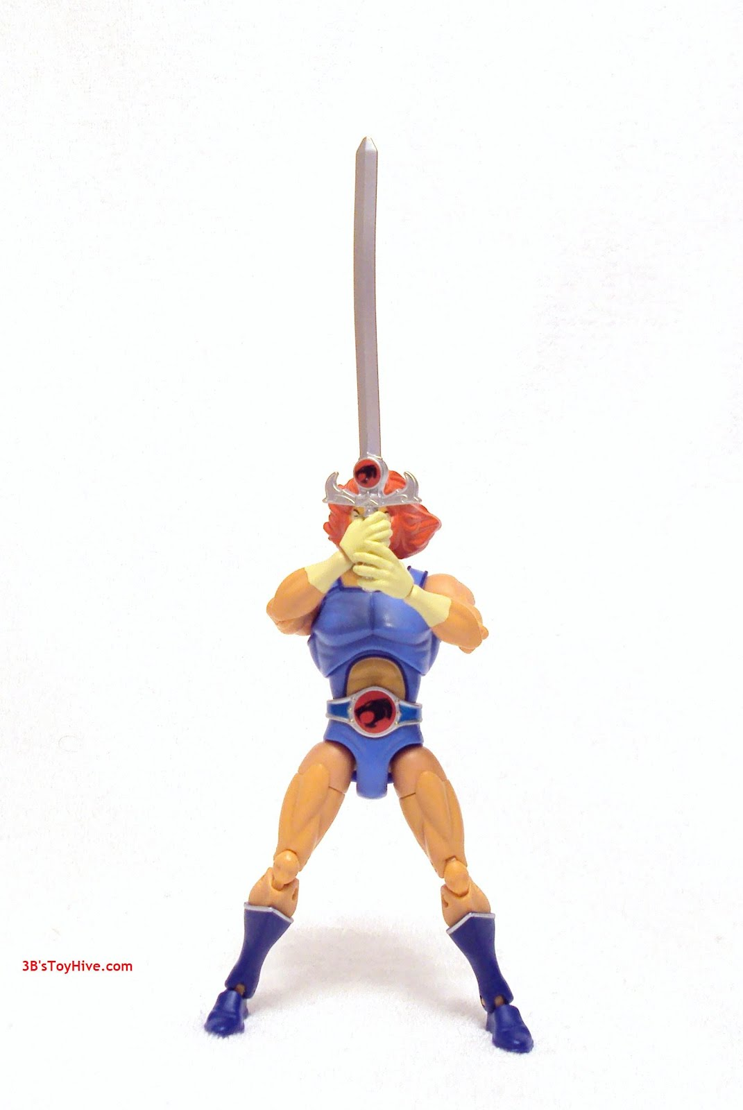 """Bandai Thundercats Lion-O action Figure loose old 6/"""" LOST A LITTLE COLOR"""