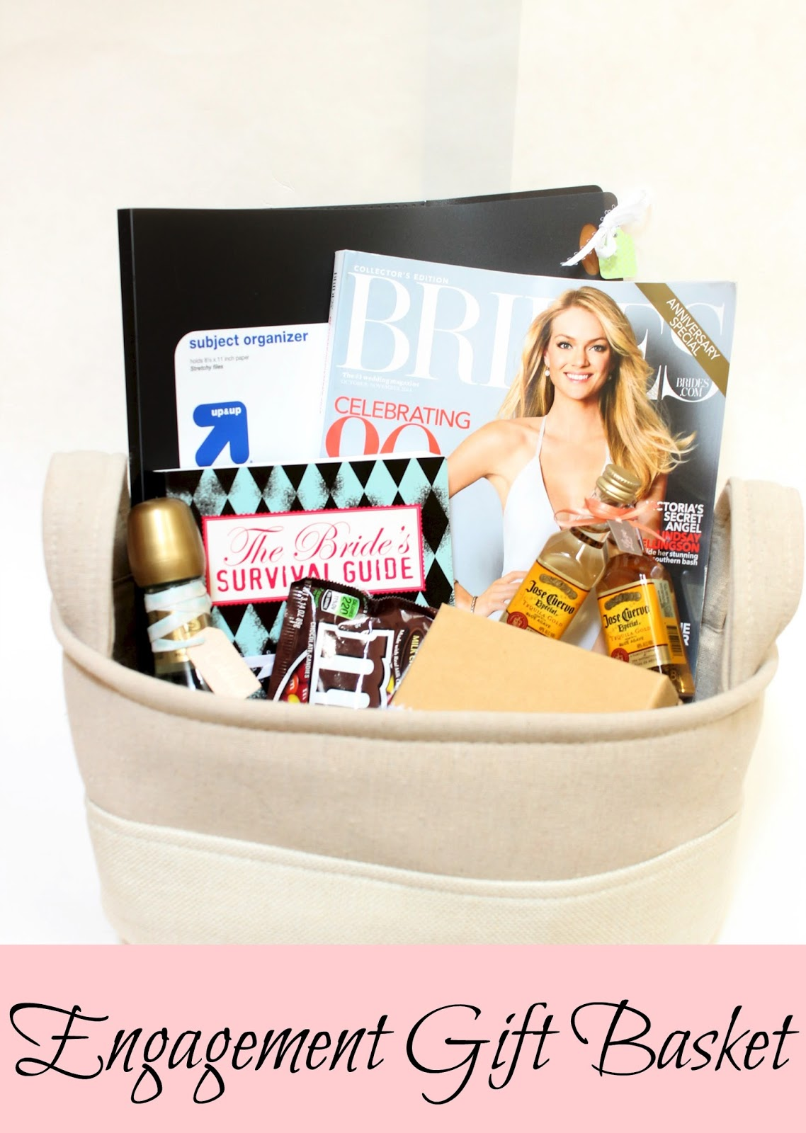 Wedding Planning Gift Basket : ... must gather all the essentials. Here is what I included in my baskets