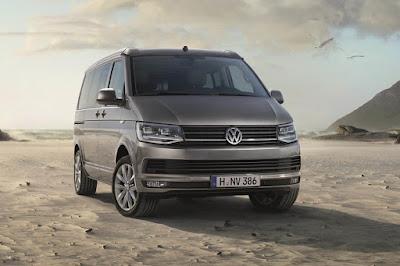 Volkswagen California Ocean (2016) Front Side