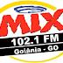 Ouvir a Rádio Mix FM 102,1 de Goiânia - Rádio Online